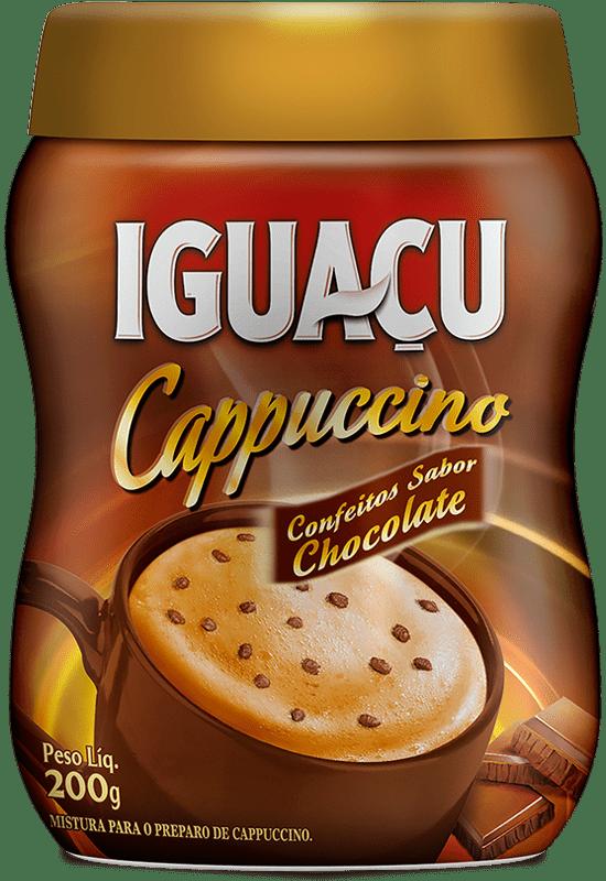 Cappuccino Confeitos de Chocolate